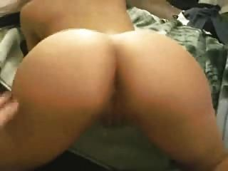 Showing Her Ass Off, Then Getting Fucked From Behind