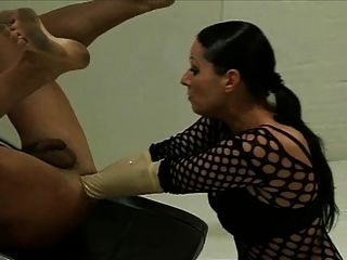 Mistress Destroy Slaves Ass
