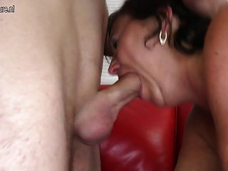Hot Grandma And Milf In Old N Young Threesome