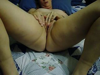 Lonely Wife Prares For Hardcore Masturbation With A Finger Fuck Orgasm