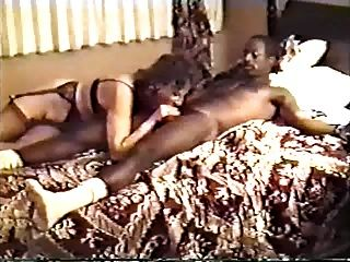 A Couple Of White Wives Have A Hotel Party, Hubbies Film