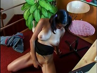 Ally Masturbates In Her Office