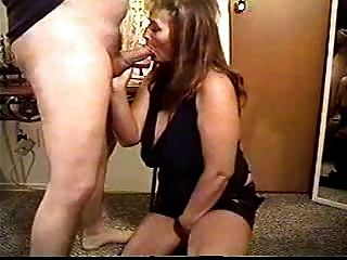 Hot Busty Brunette Amateur Mature Banged In Boots