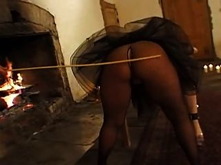 Tough Love - Chubby Blonde Gets Punished
