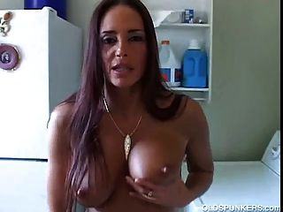 Mature Brunette Has A Sexy Body And A Winking Asshole
