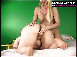 Lesbian Bbw And Blond Model 2