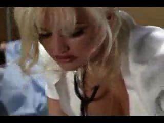 Stacey Valentine As Nurse Gives Handjob