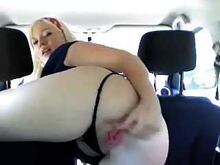 Rubs And Fucks Her Pink Holes