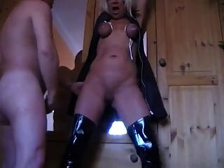 German Mature Sub Gets Used Hard
