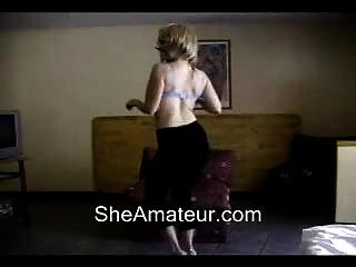 Hot Mom Webcam Dance And Strip