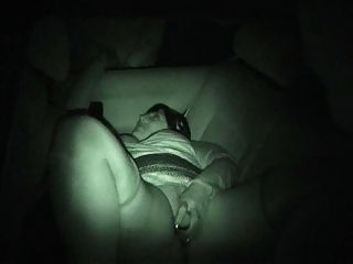 Uk Dogging In Night Vision 1