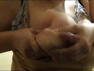 Huge Nipples Spray Milk P4