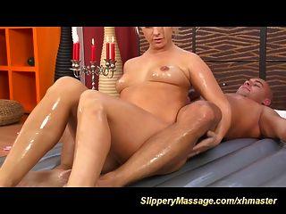 Hot Slippery Nuru Massage With Happy End