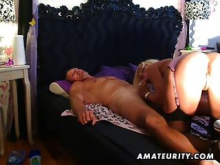 Busty Amateur Escort Sucks And Fucks With Cum On Ass