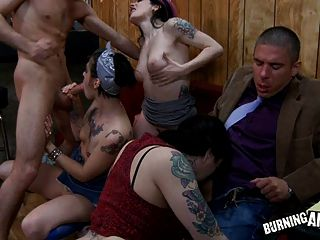 Emo Slut Bar Orgy