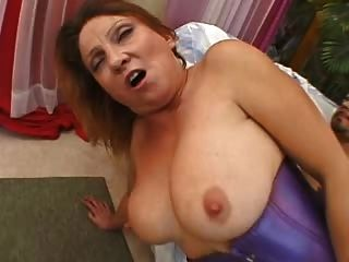 Busty Blond Mature Kiss & The Bbc
