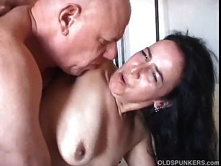 Chunky Old Babe Enjoys A Hard Fucking And Has A Big Old