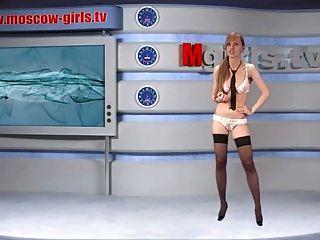Olga Barz Russian Moskow Girl Tv