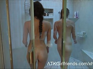 Pov Double Date With Kiera Winters And Lara Brookes Creampie
