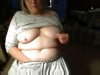 Horny Fuckable Grandma Having Fun On Webcam
