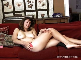 Cute Ciara Get Horny On The Couch