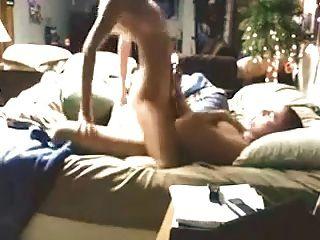 Girl in bikini man in speedo