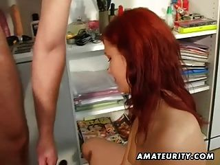 Amateur Teen Girlfriend Sucks And Fucks With Facial