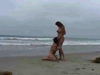 Am Strand Gefickt