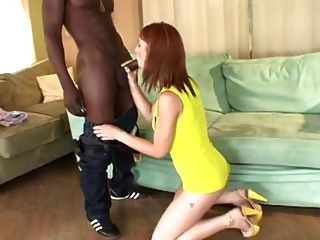 Black Cock Pussy Stretching - Steamystick