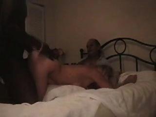 Hubby Films Blonde Wife Enjoying Black Satisfaction