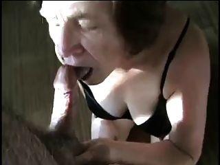 Amateur Granny Cock-worship
