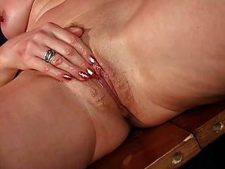 Mature Marketa Plays With Her Pussy And Ass