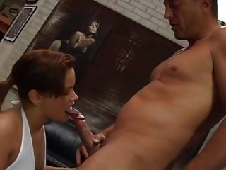 Nice Chubby Girl Fucked In The Ass By An Old Man