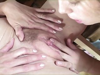 Horny Lesbians Licking Hairy Cunts...usb