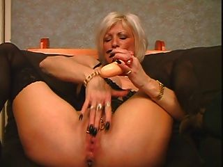 Pierced Mature Toys And Fucks
