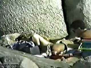 Beach Sex Video: Ass Licking