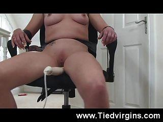 Slut Bound And Made To Orgasm