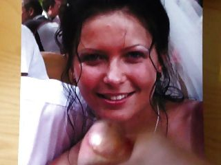 Cumshot On Bride On Her Wedding Day