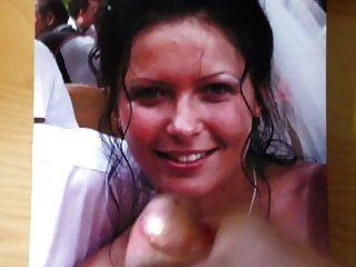 Cumshot On Bride On Her Wedding Day