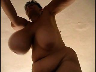 Granny Shaking Massive Tits