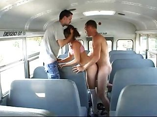 School Bus Girls Scene 1