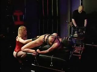 Lesbo Bondage And Fucking Machines