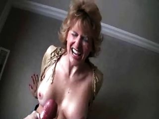 Mature Wife Getting A Big Facial