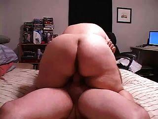 Bbw Couple In Homemade Sex Clip