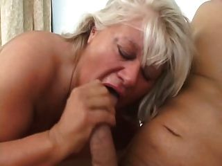 Blondy Mature Bbw And Big Cock