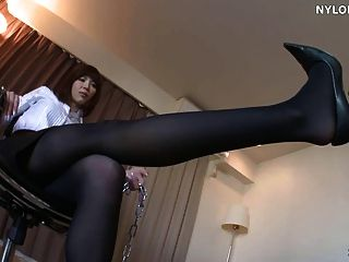 Stockings Foot Worship Stockings Footjob
