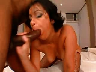 Darlene Mighty Brazilian Booty Gets Fucked By Bbc