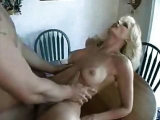 German Milf Eats Sperm