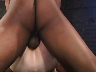 2 Black Dicks Feed 1 White Bare Ass