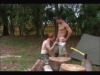 Camping Dude Shows How To Fuck The Right Tight Hole